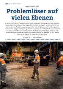 Ingenieurbüro Walz Artikel Wirtschaftsreport